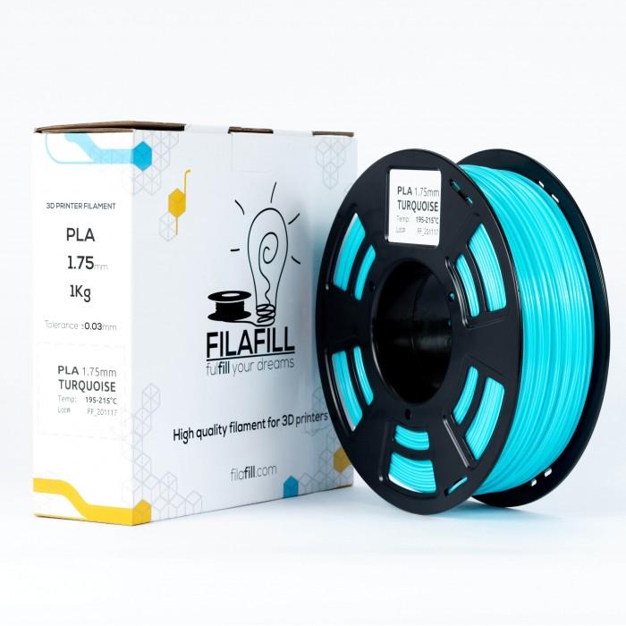 PLA Filament - PREMIUM - Turquoise - 1Kg - 1.75mm