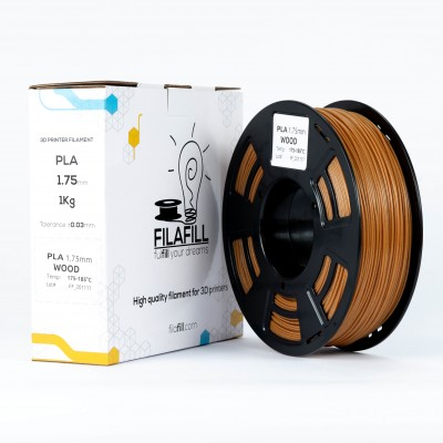 PLA Filament - PREMIUM - Wood - 1Kg - 1.75mm