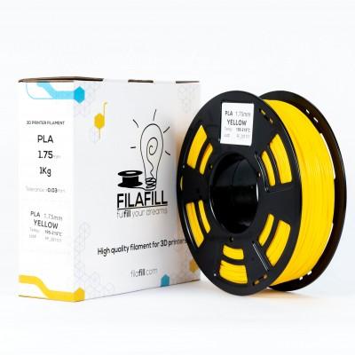 PLA Filament - PREMIUM - Yellow - 1Kg - 1.75mm