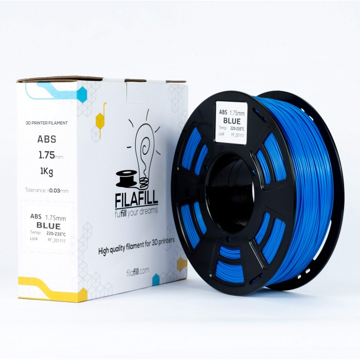 ABS Filament - PREMIUM - Blue - 1Kg - 1.75mm