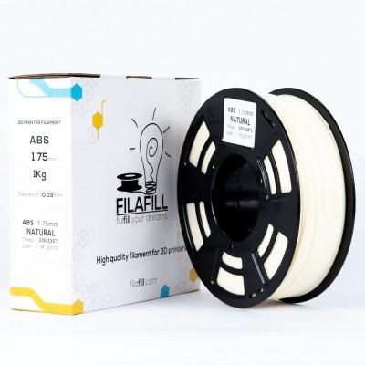 ABS Filament - PREMIUM - Natural - 1Kg - 1.75mm