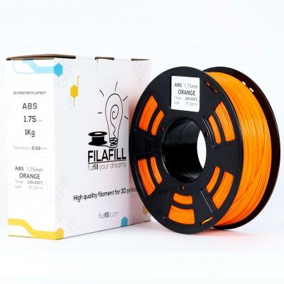 ABS Filament - PREMIUM - Orange - 1Kg - 1.75mm