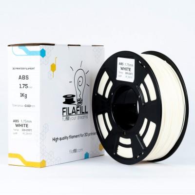 ABS Filament - PREMIUM - White - 1Kg - 1.75mm