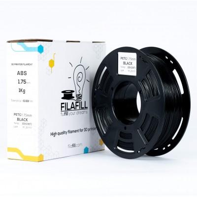 Filament PETG - PREMIUM - Negru - 1Kg - 1.75mm
