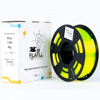 Filament PETG - PREMIUM - Galben Fluo - 1Kg - 1.75mm