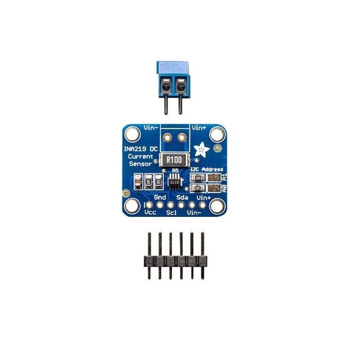 Senzor bidirectional de curent si tensiune I2C