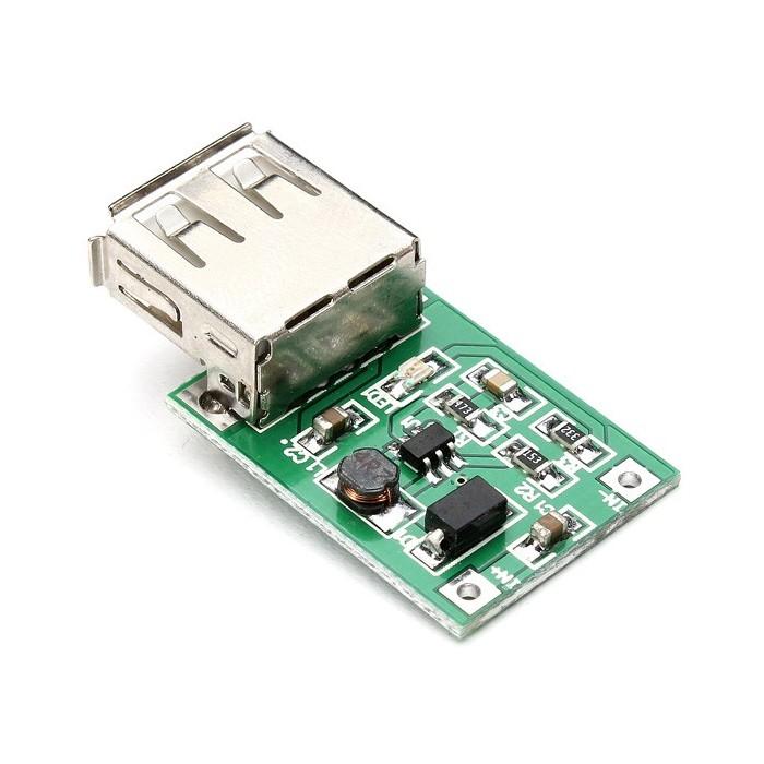 Modul ridicator tensiune 0.9V - 5V la 5V 600mA iesire USB (step up)
