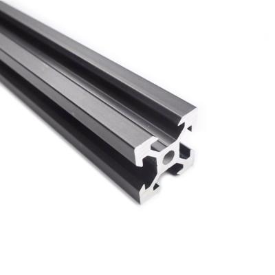Profil Aluminiu Negru V-Slot 12.5 cm