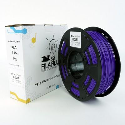 Filament PLA - PREMIUM - Violet - 1Kg - 1.75mm
