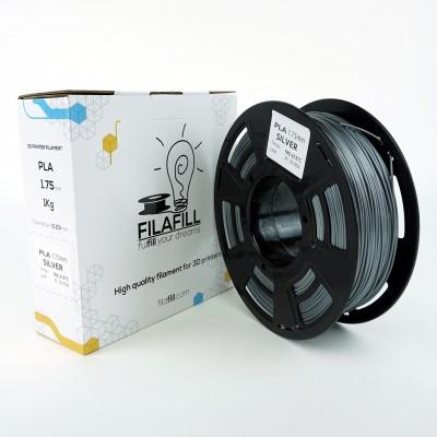 Filament PLA - PREMIUM - Argintiu - 1Kg - 1.75mm