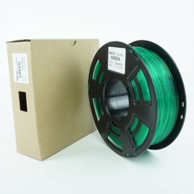 Filament PETG - PREMIUM - Verde - 1Kg - 1.75mm