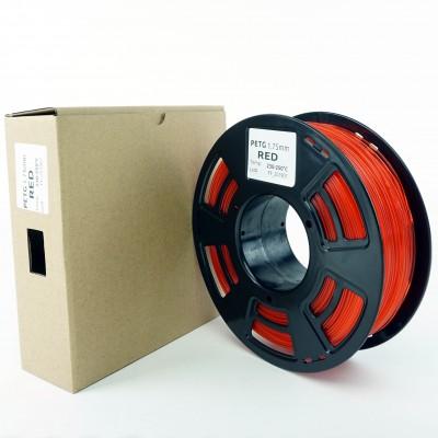 Filament PETG - PREMIUM - Rosu - 1Kg - 1.75mm