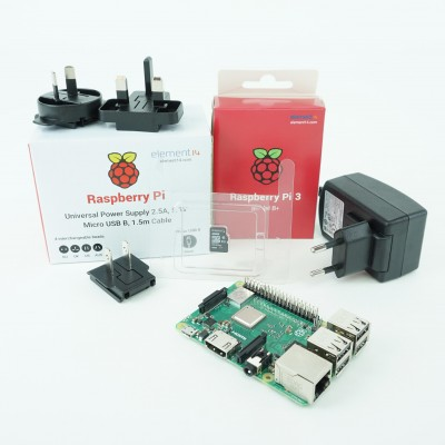 Kit Raspberry Pi 3B+ functional