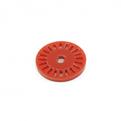 Rotita pentru encoder din acril - 20 pasi