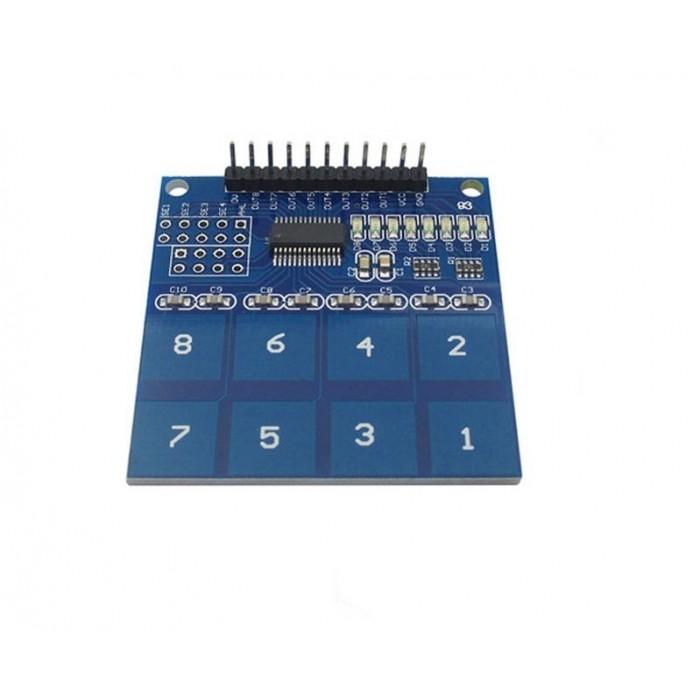 Modul senzor atingere capacitiv 8CH TTP226