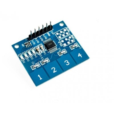 4Channel Digital Touch Sensor Capacitive Switch Module Button