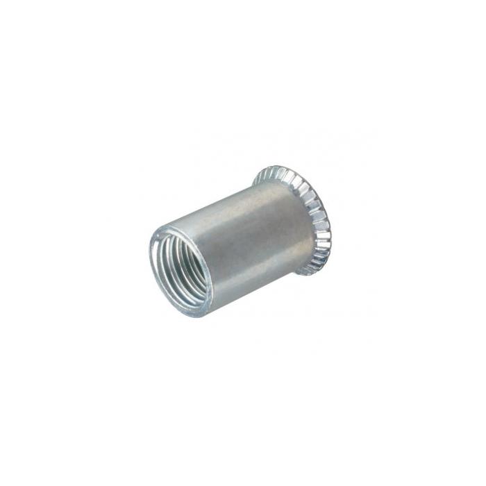Rivet nut M5 steel countersunk