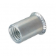 Rivet nut M6 steel countersunk