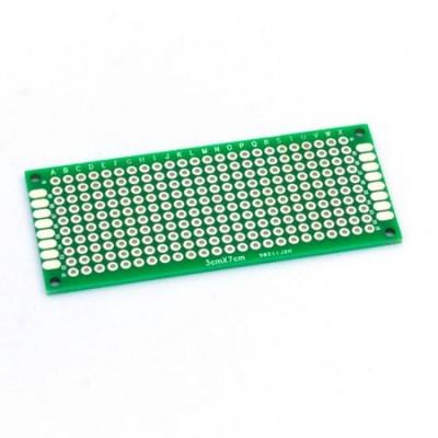 Placa PCB prototipare fata dubla 3x7