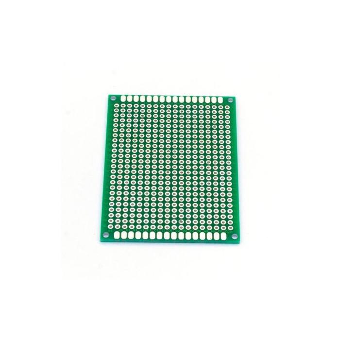 Placa PCB prototipare fata dubla 5x7
