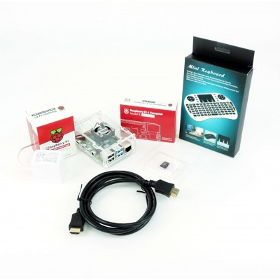 Complete kit Raspberry Pi 4B - 2GB