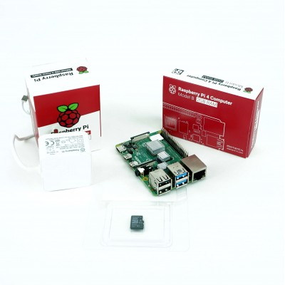 Kit Raspberry Pi 4B functional - 2GB
