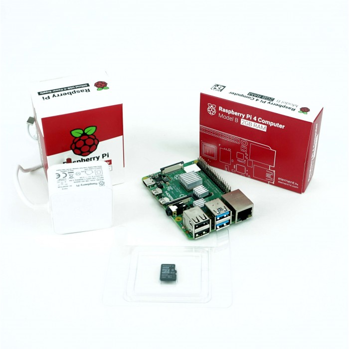 Kit Raspberry Pi 4B functional - 2GB
