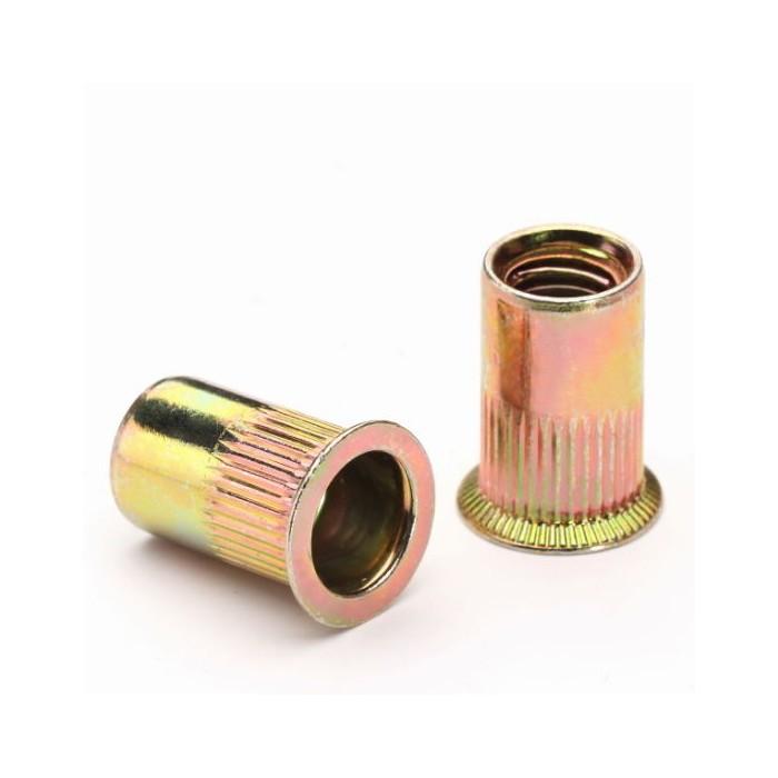 Rivet nut M5 aluminium countersunk