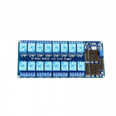 Module with 16 Relays and LM2576 Power Supply