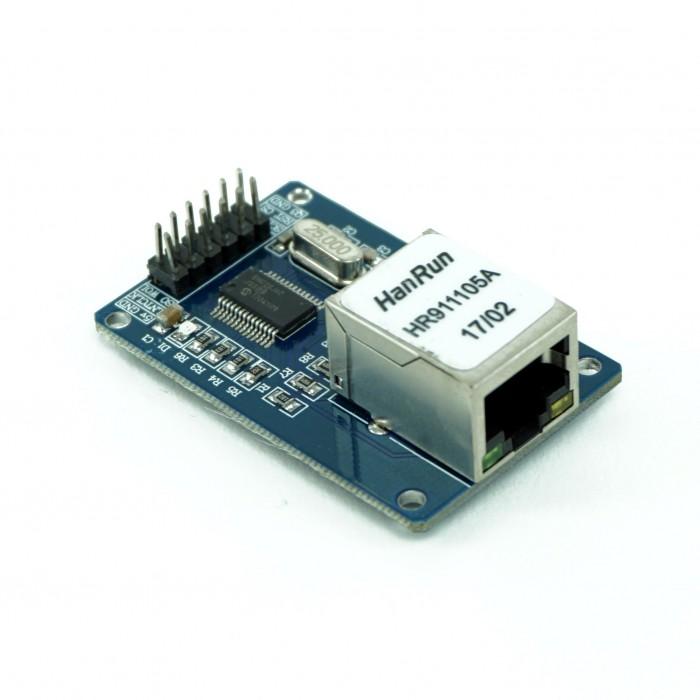 Modul ethernet interfata SPI ENC28J60