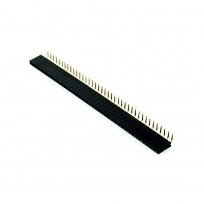 Bareta 40 x pini mama unghi 90 grade 2.54mm