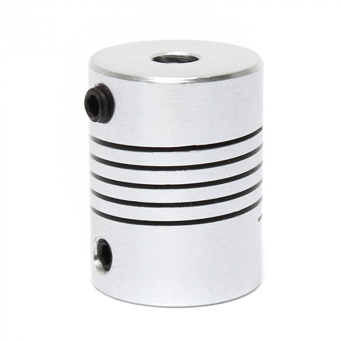 Flexible coupling - Al - 5mm - 8 mm