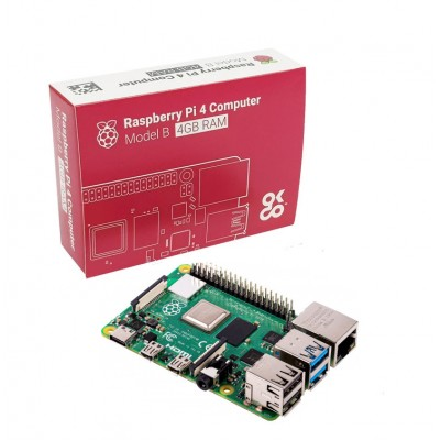 Raspberry Pi 4 Model B 4 GB