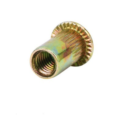 Rivet nut M6 aluminium normal