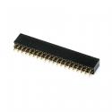 2x40p Female Pin Header 2.54 mm