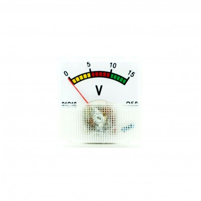 Analogic voltmeter 0-15V