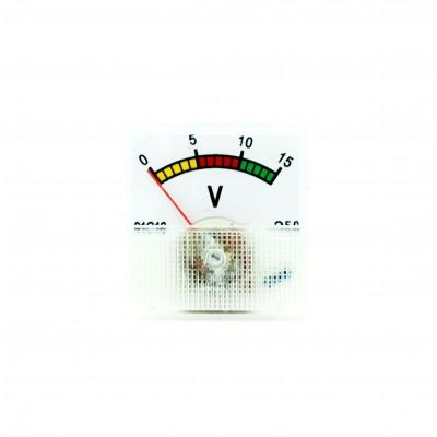 Voltmetru analogic 0-15V