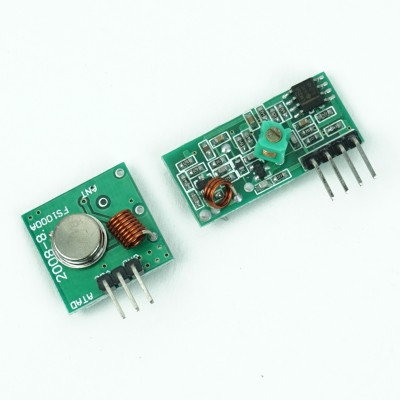 Radio emitter and receiver - 433 Mhz