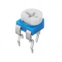 Mini potentiometru semi-reglabile 6mm 100 ohm