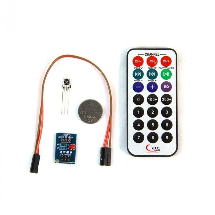 KIT IR remote control + receive + cable