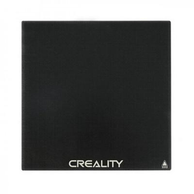Suprafata din sticla Carborundum pentru imprimante 3D 310x320x4 Creality