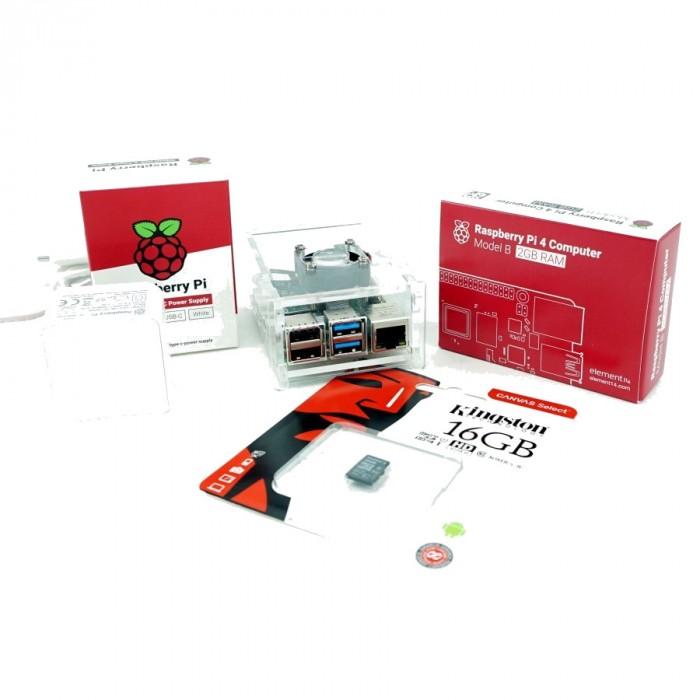 Kit de baza Raspberry Pi4 - 2GB