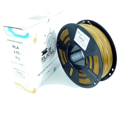 Filament PLA - PREMIUM - Auriu - 1Kg - 1.75mm