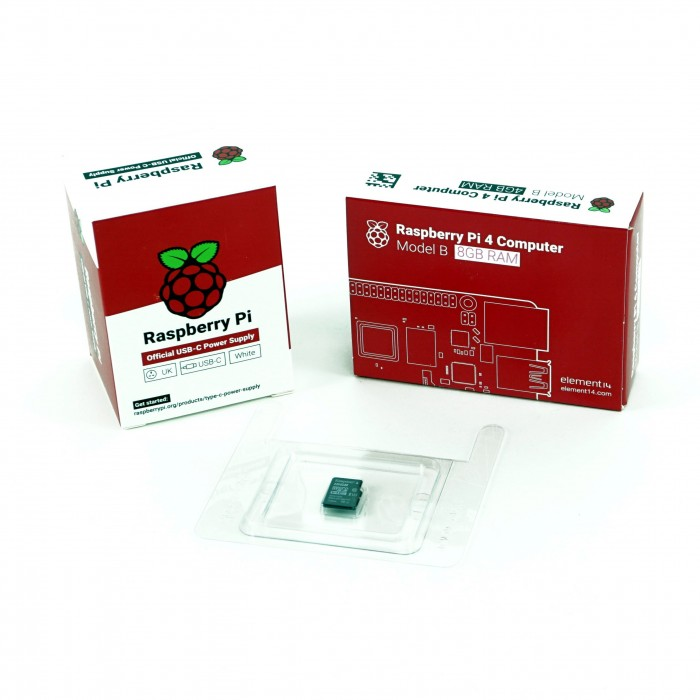 Kit Raspberry Pi 4B functional - 8GB