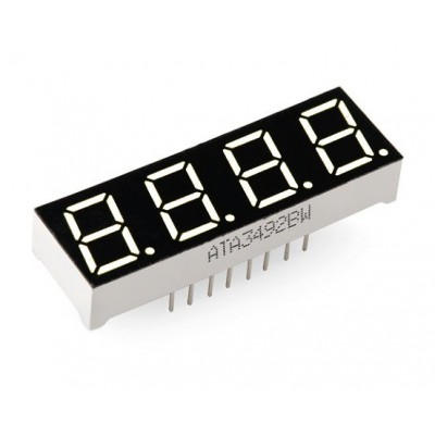 4x7 segment led display