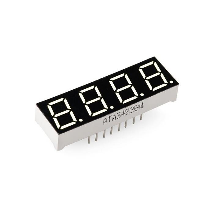 Display led 4x7 segmente