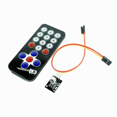 KIT IR telecomanda + receptor + cablu