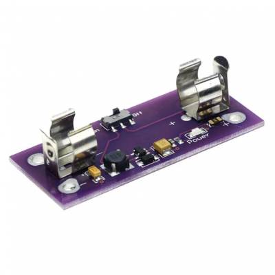 5V Power Supply Module with AAA Battery Slot