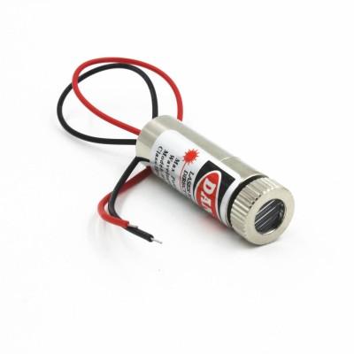 Modul dioda laser in linie - rosu - 650nm 5mW