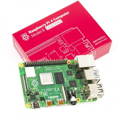Raspberry Pi 4 Model B 2 GB - Industrial